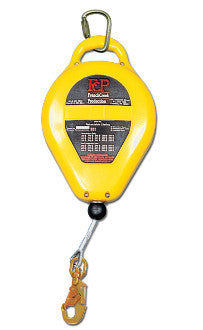 VIP RL32VZ - 32 ft Self Retracting Lifeline with 32 ft of Vinyl Coated Rope