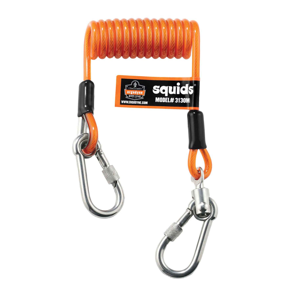 Squids 3130M Coiled Cable Lanyard - 5lb