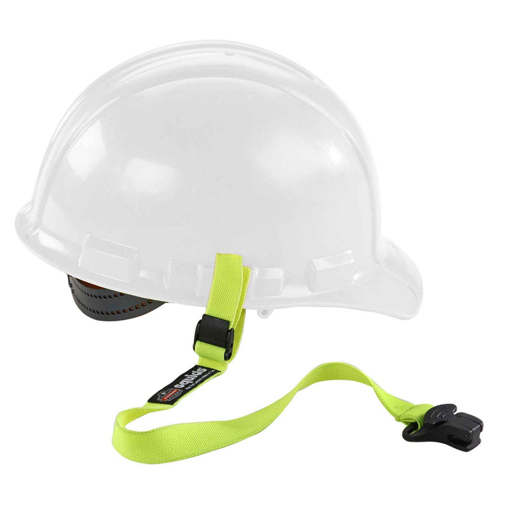 Squids 3155 Elastic Hard Hat Lanyard with Clamp