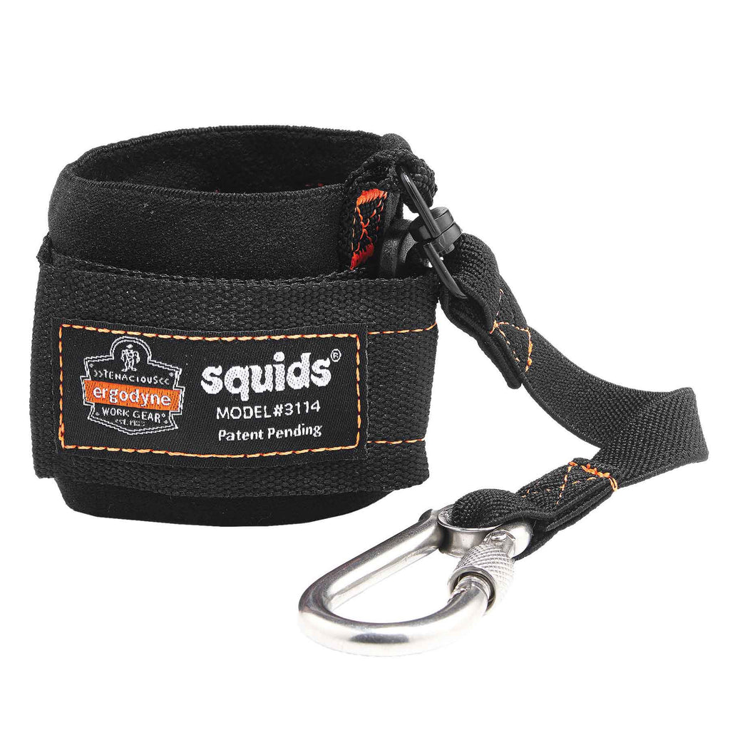 Squids 3114 Pull-On Wrist Lanyard with Carabiner - 3lbs