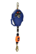3M™ DBI-SALA® Smart Lock Leading Edge Self-Retracting Lifeline 3503822, Galvanized Cable, Blue, 30 ft. (10m), 1 EA
