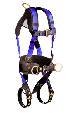 Falltech 7073B Contractor+ Construction Belted 3 D-ring Harness
