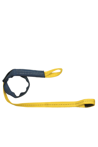 FallTech 7448L Web Embed Anchor with Dual Loops - 4 ft