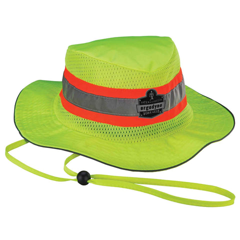 Chill-Its 8935MF Evaporative Class Headwear Hi-Vis Ranger Hat w/MF