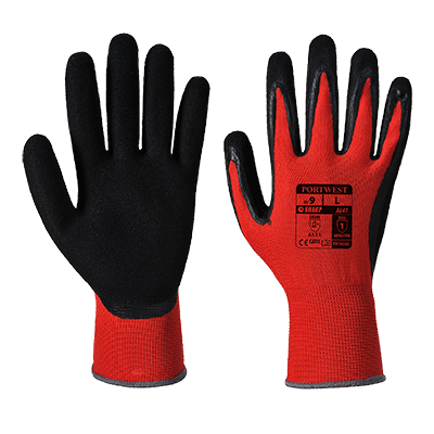 Red Cut 1 Glove