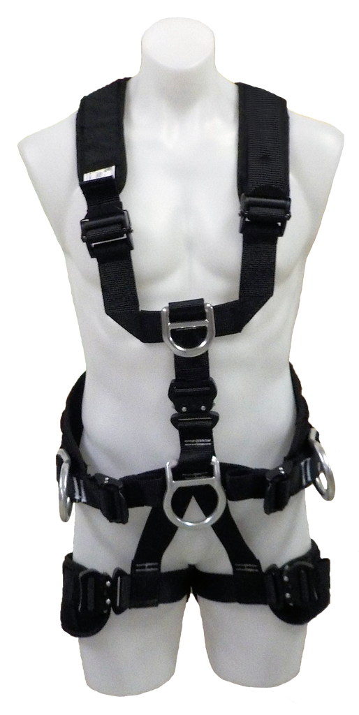 FS227-T - Tower Erection Harness with Butt Seat