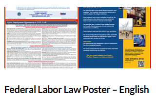 R512-015 Federal Labor Law Poster