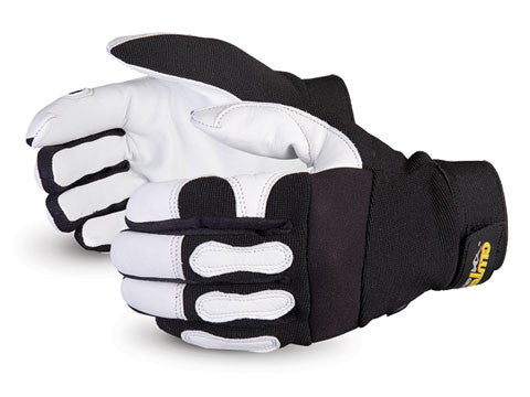 Clutch Gear® Grain Goatskin Mechanics Glove (1 doz)