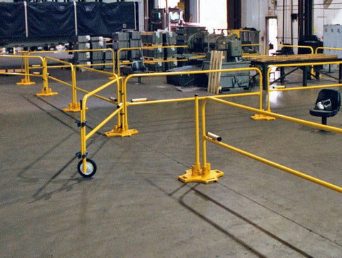 Safety Swing Gates for SafetyRail Guardrails