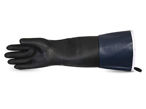 Chemstop Terry-Lined Heavy-Duty Neoprene Glove with Extended Cuff (1 doz)