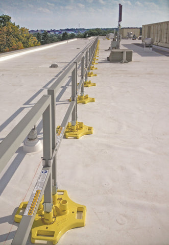 SafetyRail 2000 - Roof Fall Protection Guardrail System