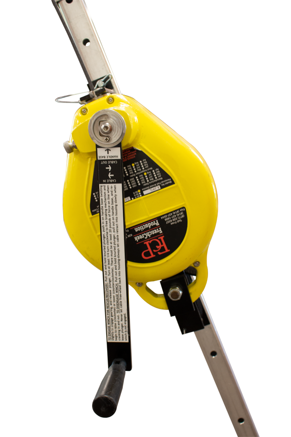 R50T - 50' Synthetic Rope Retractable Lifeline