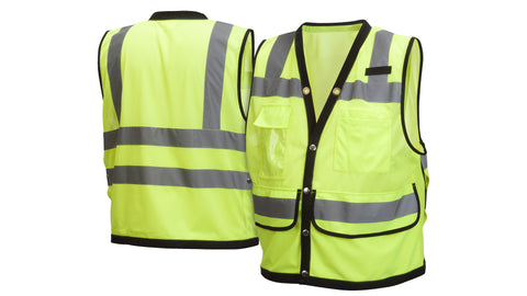 RVMS28 Series Vests - Type R - Class 2 Hi-Vis Safety Vest