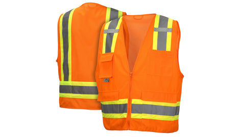 RVZ24 Series Vests - Type R - Class 2 Hi-Vis Safety Vest