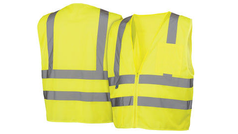 RVZ26 Series Vests - Type R - Class 2 Hi-Vis Safety Vest