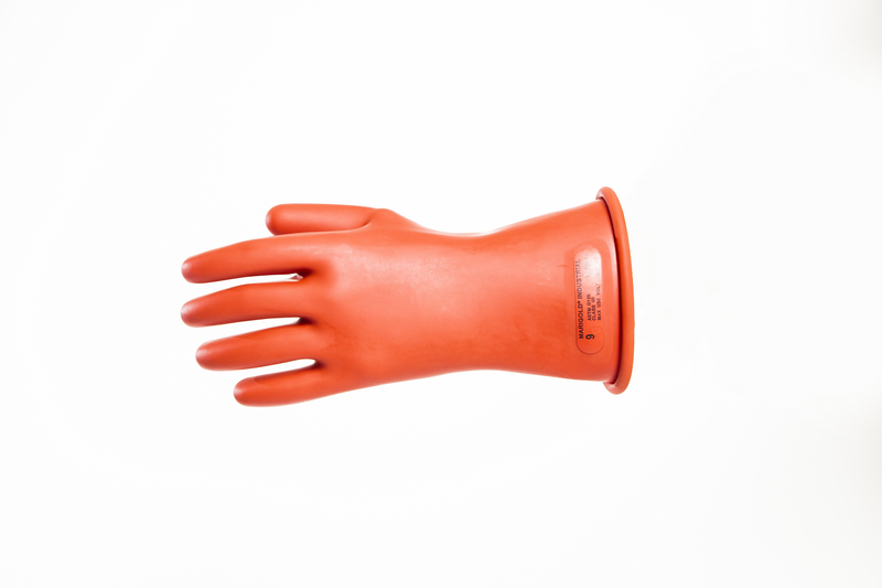 "IRG-0-11 - Class 0 - 11"" Length Rubber Gloves, 1,000 Max Use Voltage"