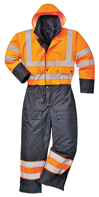 Contrast Coverall Lined