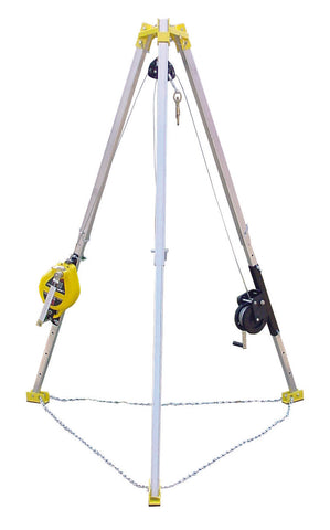 SB50T-M9 - Confined Space System with R-Series Rescue Unit, & M-Series Work Winch