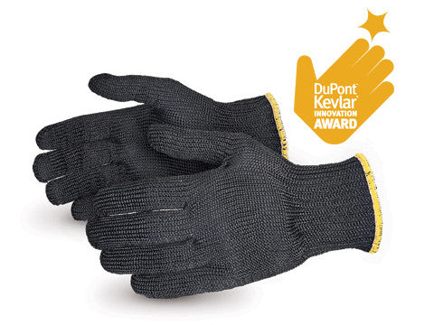 Contender™ Heavyweight Cut-Resistant Black Kevlar® Glove (1 doz)