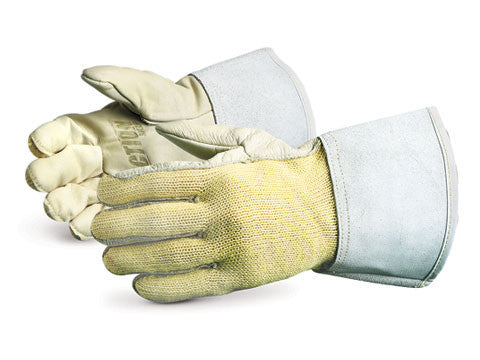 Action Kevlar Knit with Leather Palms, 4