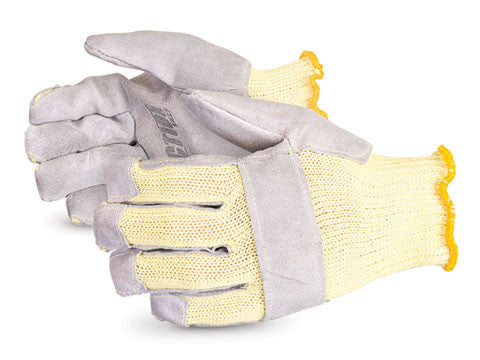 Action Kevlar with Wraparound Leather Palm and Finger-Tips (1 doz)
