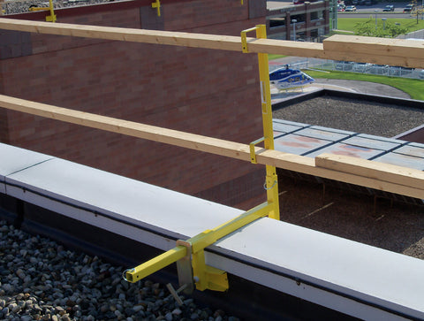VersaClamp – Parapet Safety Guardrail Systems