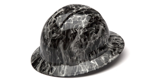 Hydro Dipped Hard Hats in Full Brim (Qty 12)