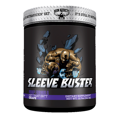 Iron Addicts Sleeve Buster Grape