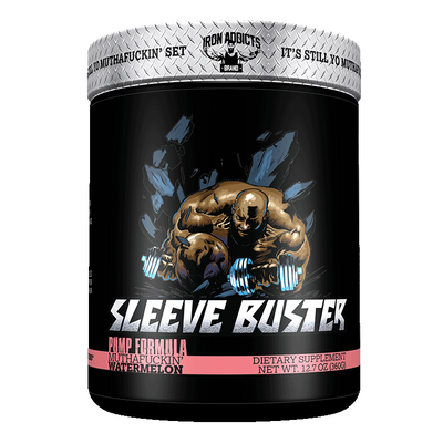 Iron Addicts Sleeve Buster Non Stim Pump Formula Watermelon
