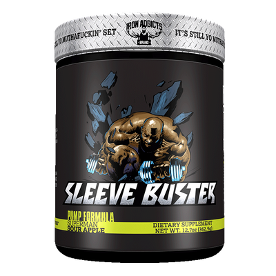 Iron Addicts Sleeve Buster Sour Apple