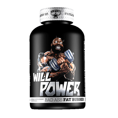 Iron Addicts Will Power Fat Burner