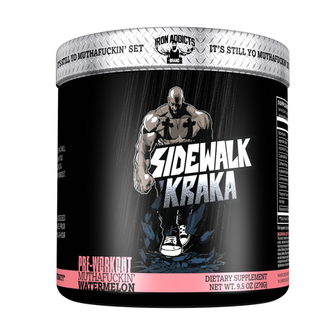 SIDEWALK KRAKA - Pre-Workout - Iron Addicts Brand by CT Fletcher