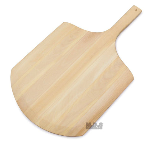 "Pizza Peel Cutting Board/server 21"" With Tapered-Edge Paddle Slips Easily"