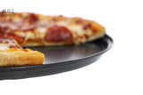 "14"" Non Stick Pizza Pan Cooking Grill Stove Round Baking Tray Oven Kitchen New"