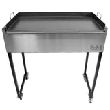 "Taco Cart Plancha 31"" Griddle Comal Steel Flat Top Heavy Duty Cooking"