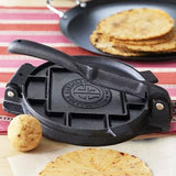 "Tortilla Press 7.5"" Inch Heavy Cast Iron NEW Tortilla Maker Authentic Tortillas"