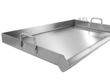 Griddle Grill Stainless Steel Plancha BBQ Heavy Duty Comal Outdoor Stove Burner