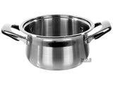 Dutch Oven 4qt Stainless Steel Tri-Ply Encapsulated Bottom Stock Pot NEW