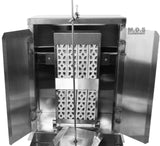 Trompo Tacos Al Pastor Authentic Mexico Machine Heavy Duty Commercial Stainless Steel