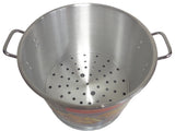 32 Qt Tamale Steamer Vaporera Stock pot Premium Aluminum 8 Gallons Fry Pan NEW
