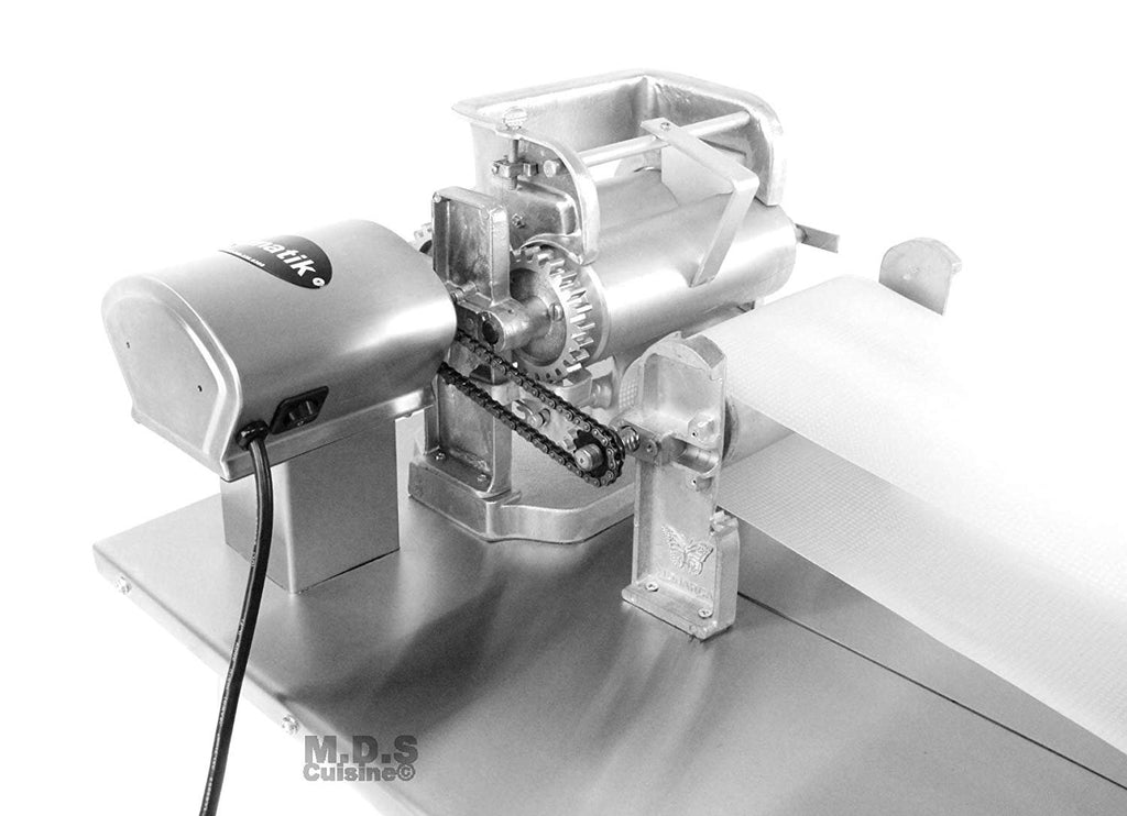 Tortilla Press Roller Maker Electric Stainless Steel Para