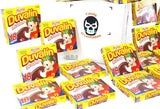 Mexican Candy Duvalin Ricolino Bi Sabor Avellana Y Vainilla Wholesale Hazelnut and Vanilla Flavored Creme Cream Pudding Dulces Mexicanos (6 Packs of Duvalin (108 Pieces))