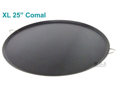 Ematik Comal 100% Heavy Duty Gauge Carbon Steel para Tortillas Quesadillas