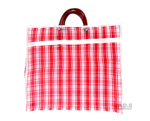 "Shopping Bags Mercado Mexican Tote Grocery Handmade 15.5"" X 12.5"" Carrying Assorted Flannel Colored Mesh Reusable Market Bag Cocina Mexicano ((M) Red Mexican Handbag)"