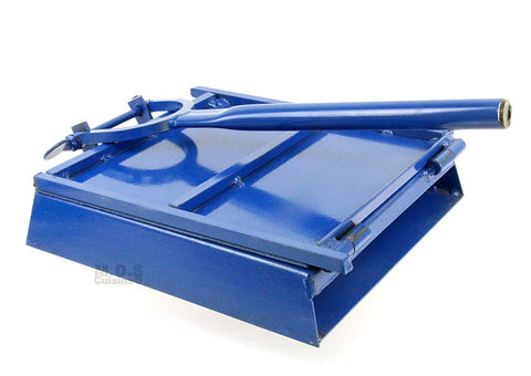 "Tortilla Press 9.5"" Blue Heavy Duty Iron Restaurant Commercial Authentic Mexican Tortillas"