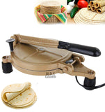 Electric Tortilla Press Baking Maker Heavy Duty Authentic Mexican Non Stick New