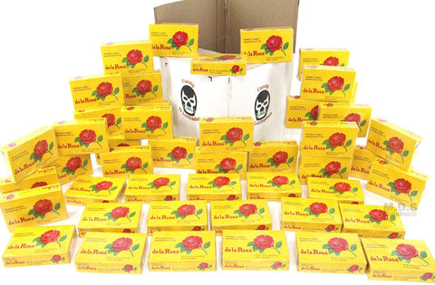 Mexican Candy Marzipan Mazapan De La Rosa Chewy Peanut Style Wholesale Boxes 12 Piece Packs Dulces Mexicanos (48 Boxes of Marzipan 12 Pack (576) Pieces)