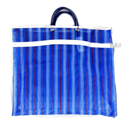"Shopping Bags Mercado Mexican Tote Grocery Handmade 19"" x 15.5"" Carrying Assorted Flannel Colored Mesh Reusable Market Bag Cocina Mexicano (L) Blue Mexican Handbag)"