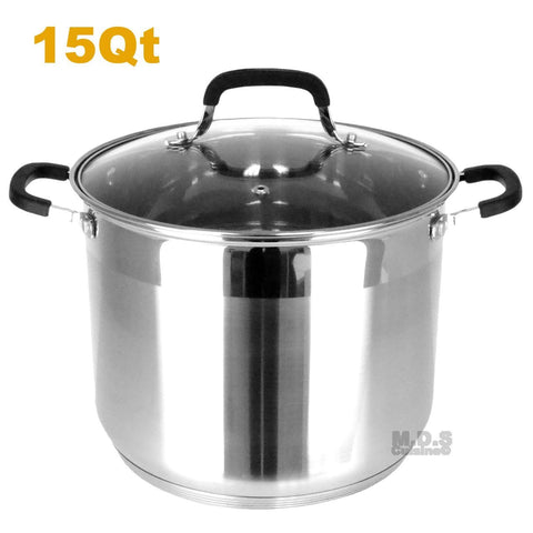 Stockpot 5 Layer Capsulated Bottom Stainless Steel Vaporera Tamalera Traditional Stock Pot Olla Tamale