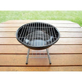 Bbq kettle Grill Charcoal camping outdoor Portable Small BackYard Picnic Red NEW